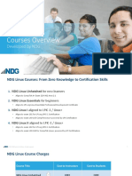 Ndg Linux Courses Overview