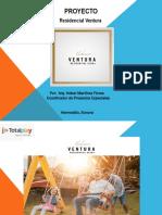Presentación Residencial Ventura Propuesta de Paquetes y Servicios
