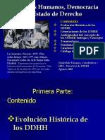 Historia de Los DDhh