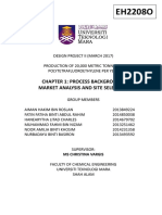 Chapter 1 - Process Background, Market Analysis and Site Selection