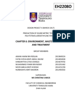 Chapter 6 - Evironment, Waste Treatment and Prevention