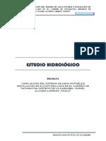 ESTUDIO HIDROLOGICO PATARAYOG