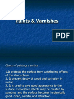Paint and Varnishes