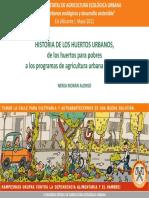 Historia Huertos Urbanos