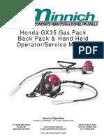 Roçad Honda Gx35 Service Manual