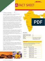 DHL India Fact Sheet