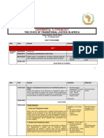 the state of tj in africa- draft program