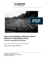 1-How Curve Geometry Influences Driver Behavior in Horizontal Curves