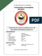Ejercicios Del Capitulo 8 (Smith), 8.32 y de Selección de Materiales Ejercicio 3