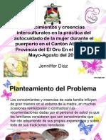 Conocimientos y creencias interculturales en la práctica del.pptx