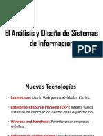 4. Analisis y Diseño de Sistemas