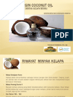 Virgin Coconut Oil Presentasi