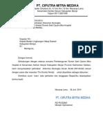 Surat Pengantar KA