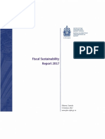 The Parliamentary Budget Office's Fiscal Sustainability Report 2017