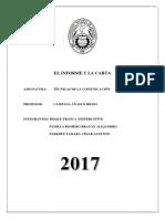 Monografía-semana11-El Informe y La Carta