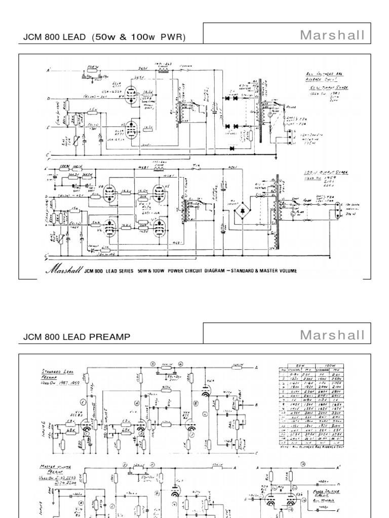 marshall-jcm800-lead-series-amplifier-schematic.pdf Jcm Schematic on