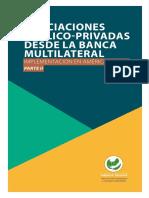 Asociaciones Publico Privadas Banca Multilateral Implementación América Latina Parte II