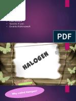 PPT Halogen