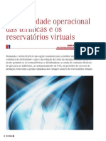A Flexibilidade Operacional Das Termicas e Os Reservatores Virtuais