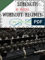 Free Strength Workout Regimen