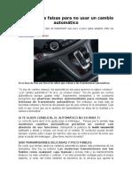 Cambio Automático en automoviles.doc