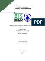 informe geologia TALUD