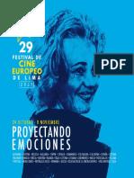 29º FESTIVAL DE CINE EUROPEO DE LIMA