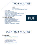 Locating Facilities 2