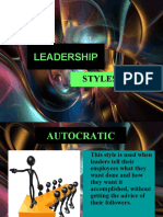 Ie-53 Chapter 7 (Leadership Style)