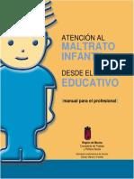 Atencion Al Maltrato Infantil Desde El Ambito Educativo