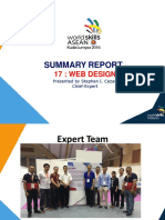 2. Slide Summary Report_CE_Web Design_TCM2 Presentation_22.9.16