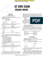 CAT 2005 Exam Solved Paper set 2.pdf