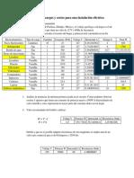 Análisis de Cargas y Costos Para Una Instalación Eléctrica
