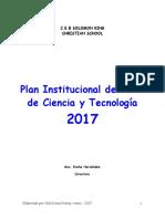 Plan Feria Ciencia Tecnologia.