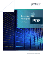 Technology Risk Management 2.0 a New Approach Protiviti