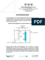 Electrocoagulación CE