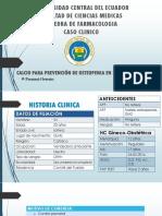 Caso Clinico Prevencion Osteopenia en Embarazo