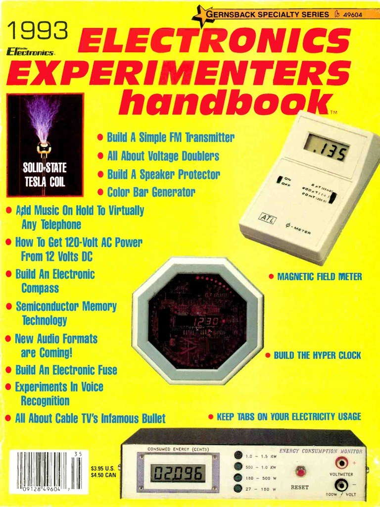 Electronics Experimenters Handbook 1993 Fuel Cell Hydrogen 8220hum8221 Remover Live Audio System Circuit Diagram