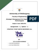 Strategic Report of United Breweries