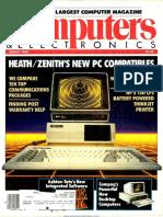 Computer & Electronics - Aug 1984