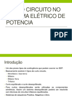 Corto Circuito En el Sistema Eléctrico de Potencia