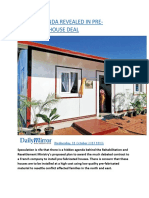 HIDDEN AGENDA REVEALED IN PRE-FABRICATED HOUSE DEAL.docx