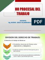DIAP. VIII CLASES DERECHO PROCESAL DE TRABAJO.pptx