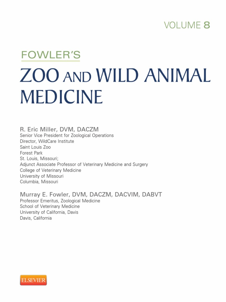 Zoo And Wild Animal Medicine Vol 8 | Frog | Veterinary Physician