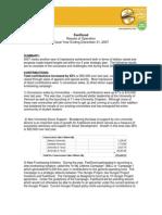 FeelGood Financial Summary 2007