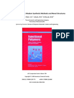 Functional Polymers. Modern Synthetic Methods and Novel Structures