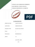 Monografia de Derecho Romano