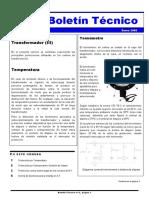 Protecciones del Transformador (III)