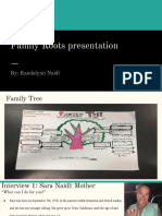 family roots presentation