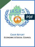 ecosoc chair report